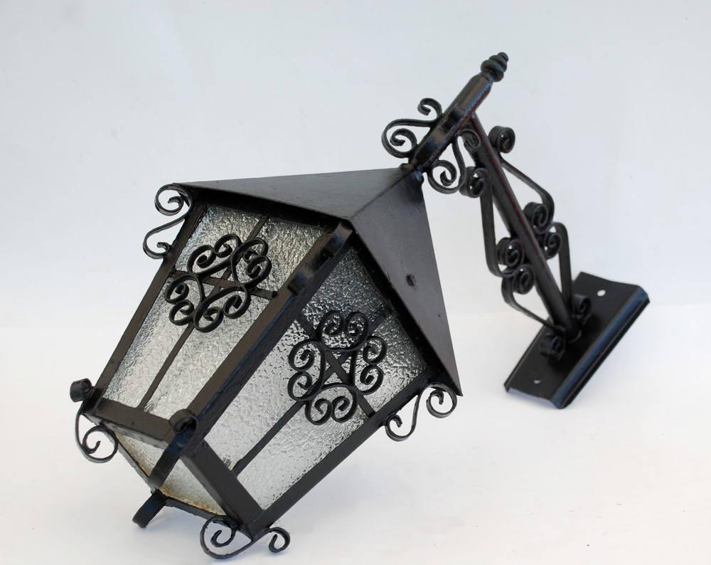 Ancienne lanterne suspendre eclairage lampe ext rieur for Lampe exterieur a suspendre