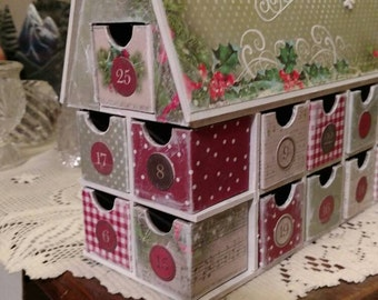 Christmas Cottage Advent House