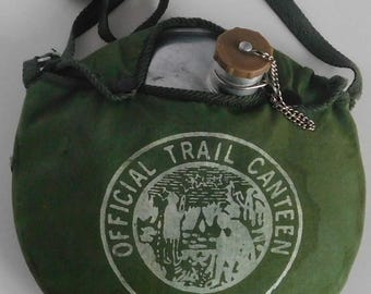 Vintage Official Trail Canteen Boy Scouts Taiwann