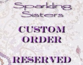 Reserved for LS4Swarovski - Custom Healing Gemstone Bracelet stretch *FREE SHIPPING USA*