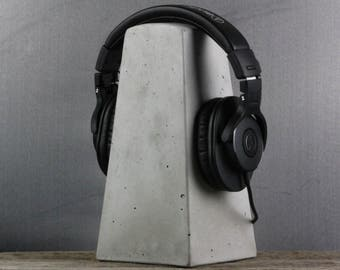 Concrete Headphone Stand