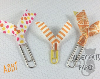 Abbi - Planner or Bookmark clips (3 Pack)