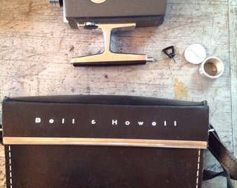 Vintage Bell and Howell Super Eight Optronic Eye Movie Camera