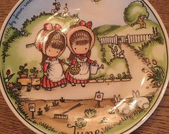 Vintage 1966 Joan Walsh Anglund Collector Plate West Germany June
