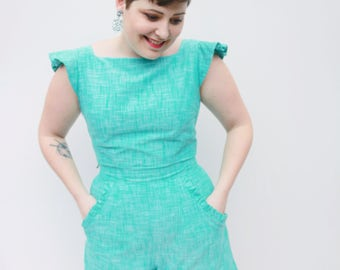 Seafoam Twin Set - Top - Only 3 made!
