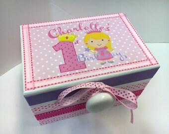 Little Princess First Bithday Time Capusule