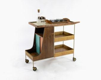 Mid Century // California Modern Bar Cart by Arthur Umanoff for Raymor