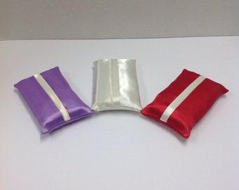 Elegant Satin Travel Tissue Holder