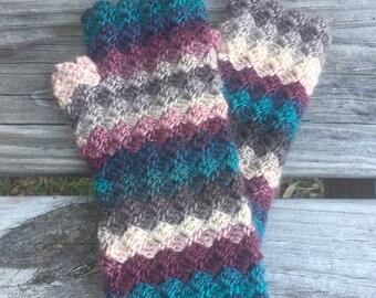 Crochet Wrist Warmers | Tealberry