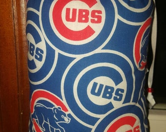 XL, Mini Rig, Bubbler, Pipe Protection, Chicago Cubs, Cubbies,  Print, Glass Pipe Protection, Pretty Pouches, Glass Pipe Bag, Pipe Cozy, bb