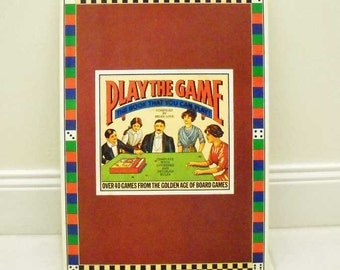 Play The Game Book Vintage