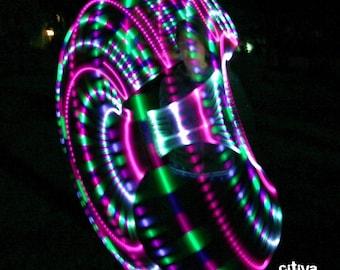 Jellyfish Strobe LED Hula Hoop