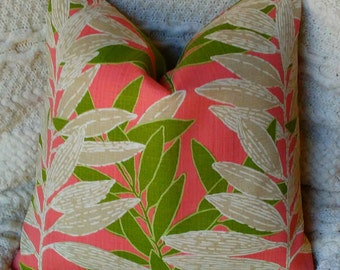 NEW Two18 x 18  Key West Palms   Pillow Covers Stunning