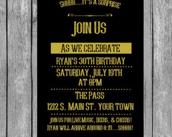 35th invitation -35th birthday invitation, 35th birthday invite, 35th birthday invite, 35th birthday invitations, 35th birthday invites