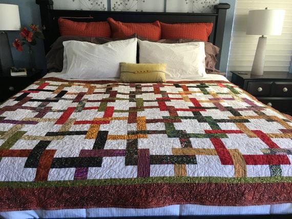 ETHNIC PATH - Handmade Quilt