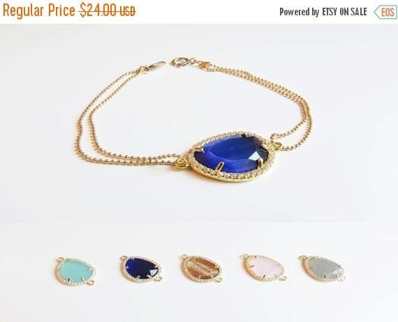 SALE 60% OFF Gemstone Bracelet | Layering Bracelet | Delicate Gold Bracelet | Bridesmaids Bracelet | Bridesmaids Gift | Gifts for her