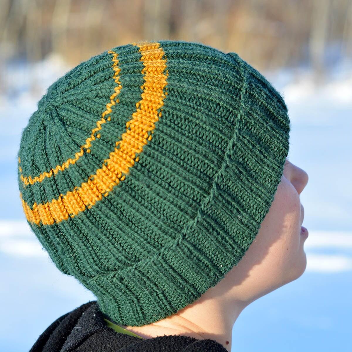 Knit hat pattern pdf mens womens childrens zoom bankloansurffo Images