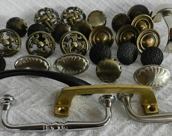 Drawer Pulls- Found Objects- Junk Drawer