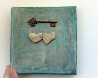 Unique Anniversary Gift - Unique Wedding Gift Idea - Engagement - Unique Gift for Family Unique - One of a Kind Wall Decor, Gift for couples