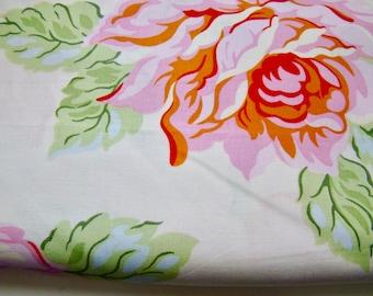 Heather Bailey Nicey Jane Hello Roses Cream Fabric OOP Half Yard
