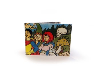 Dungeons and Dragons Card Holder - Travel, metro, subway, oyster - Comic in Vinyl