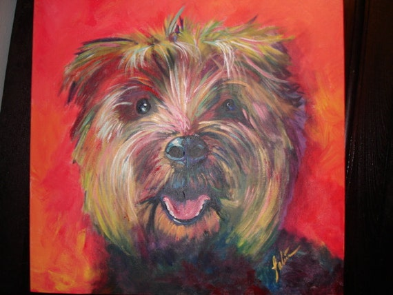 Pet Portraits Custom Paintings