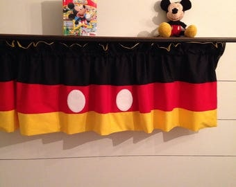 Disney inspired valance