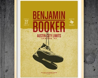 Benjamin Booker Austin City Limits poster