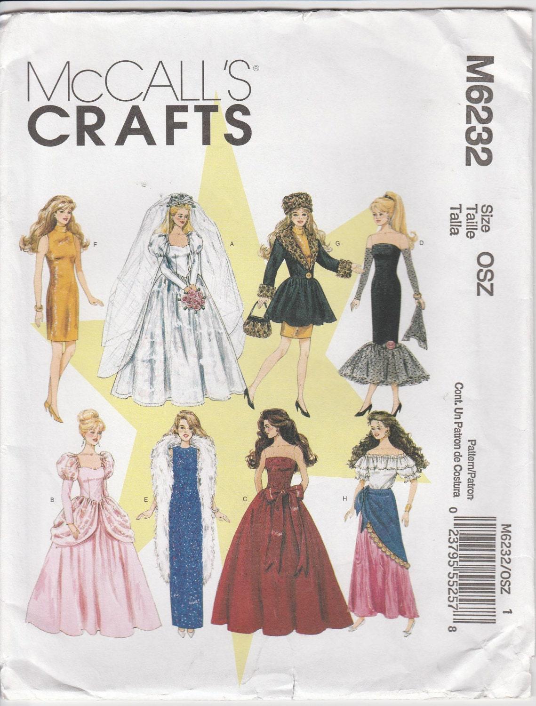 Wedding Gown Pattern For 11 1 2 Fashion Doll Barbie 2010