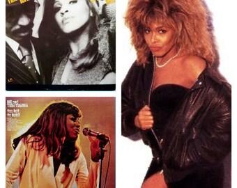 Tina Turner Vinyl Record Collection