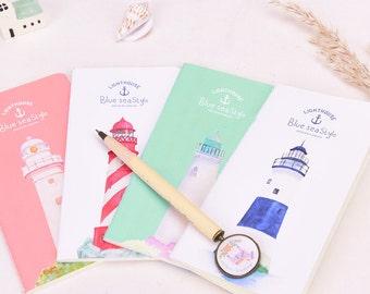 Lighthouse Traveler's Journal Notebook Journal Planner Journal Insert Planner Insert Hand Book