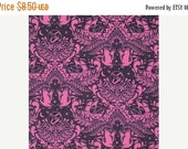 Black Friday Sale Tula Pink Fabric by the Yard Elizabeth Ship Shape in Sky Cotton Fabric One Yard
