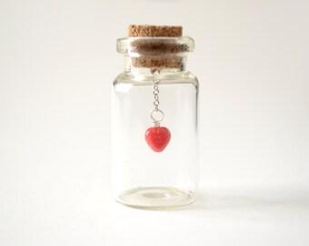 Heart In A Bottle Keepsake Gift