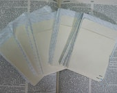 Manila Library Pockets Lot of 25 Peel and Stick for scrapbooks and journals