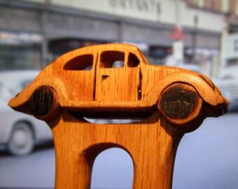 Hair Fork - VW Beetle in Oak