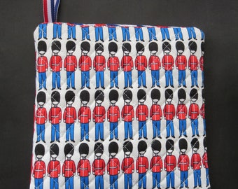 British Pot Holder /Trivet / Wall Decor - Made With Hard To Find Fabrics