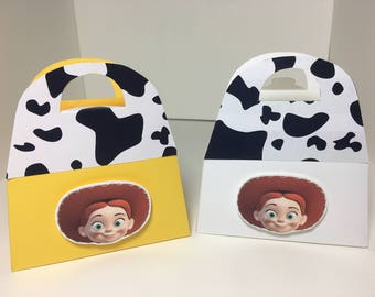 TOY STORY Birthday Party Favor Gift Box - JESSIE Design