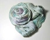 Pure Silk  MERIDIAN  in Winter Skies - One of a Kind