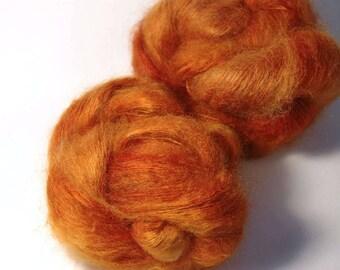 HANA Kidmohair Silk in Fire Lily - One of a Kind