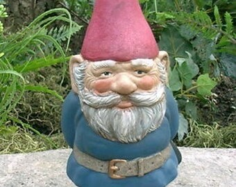 SALE! Mr Gnome Blue 9 Inch Tall R50B