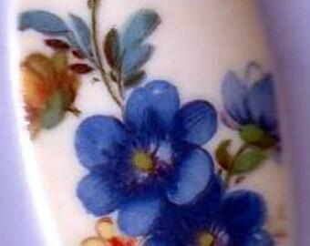 Vintage Floral Cabochon, 1960s