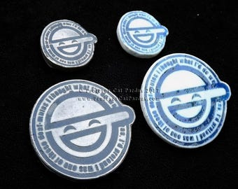 Ghost in the Shell Laughing Man pins
