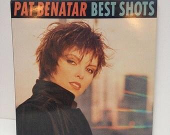 Pat Benatar - Best Shots 1987 vintage Vinyl Record LP 80s new wave pop rock