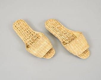 Open Toe HOUSE Slippers