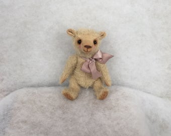 Teddy Bear Tommy Artist teddy bear  Mohair bear  Hand made bear Collecting teddy bear OOAK teddy bear