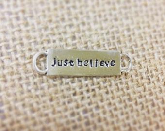 Just Believe Shoe Charm