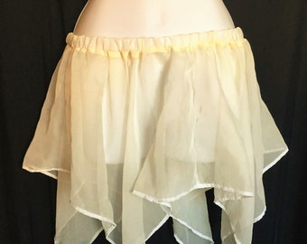 Adult Off-White Fairy Skirt