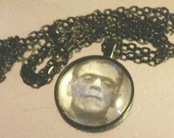 Frankenstiens Monster necklace  - Horror
