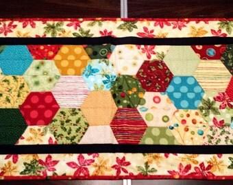 Christmas Hexagon Table Runner