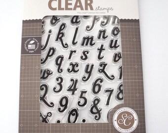 Studio Calico Stamp Set - Claire Alphabet